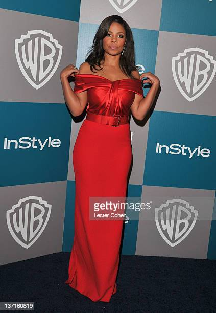 Actress Sanaa Lathan arrives at the 13th Annual Warner Bros. And InStyle Golden Globe After Party held at The Beverly Hilton hotel on January 15,...