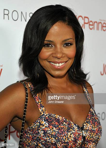 Actress Sanaa Lathan arrives at the I Heart Ronson launch party presented by Charlotte Ronson and JCPenney held at Bar Marmont on April 3 2009 in Los...