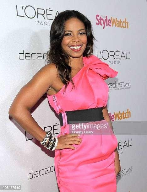 Actress Sanaa Lathan arrives to 'A Night Of Red Carpet Style' hosted by People StyleWatch at Decades on January 27, 2011 in Los Angeles, California.