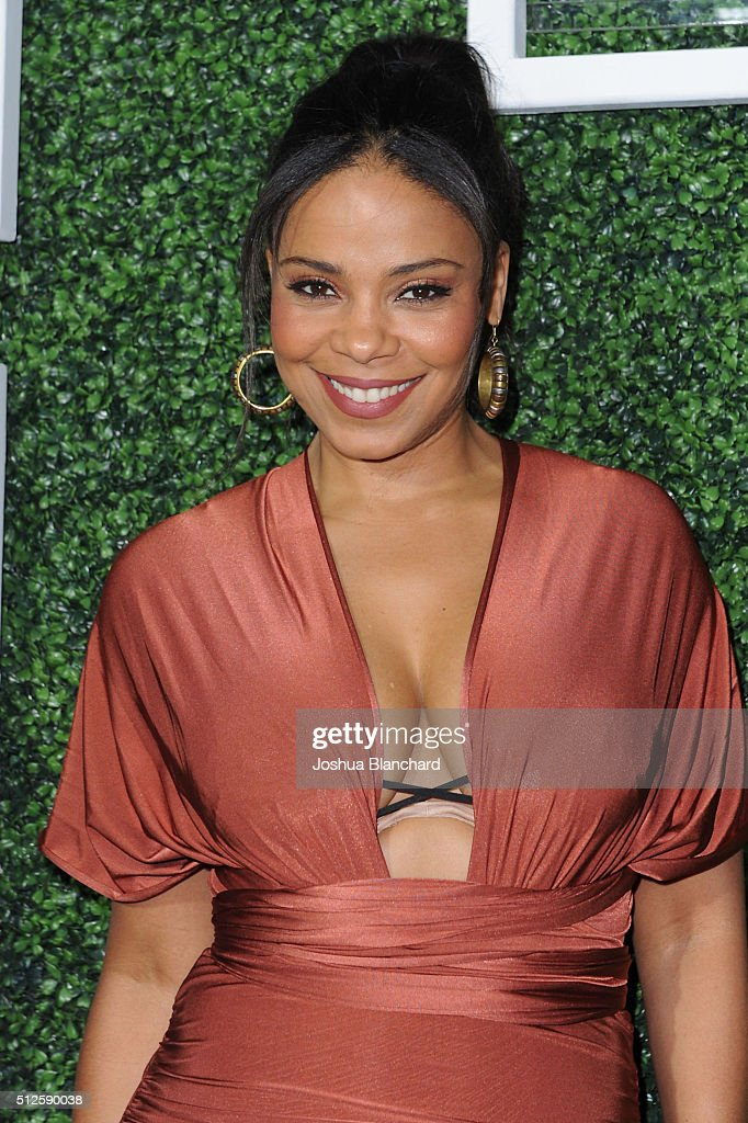 Actress Sanaa Lathan attends Common's Toast to the Arts sponsored by Remy Martin at Ysabel on February 26, 2016 in West Hollywood, California.
