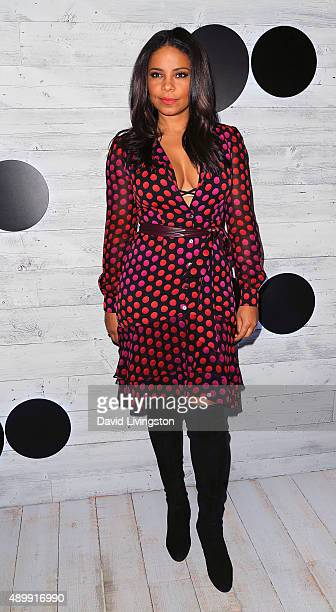 Actress Sanaa Lathan attends go90 Sneak Peek at the Wallis Annenberg Center for the Performing Arts on September 24 2015 in Beverly Hills California
