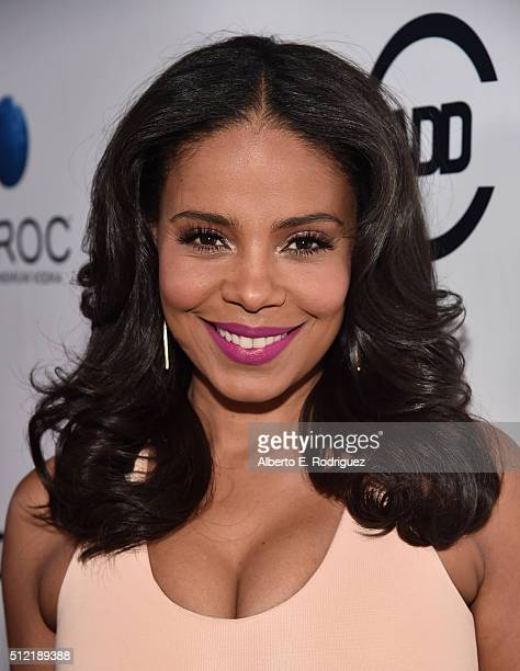 Actress Sanaa Lathan attends the ALL Def Movie Awards at Lure Nightclub on February 24 2016 in Hollywood California
