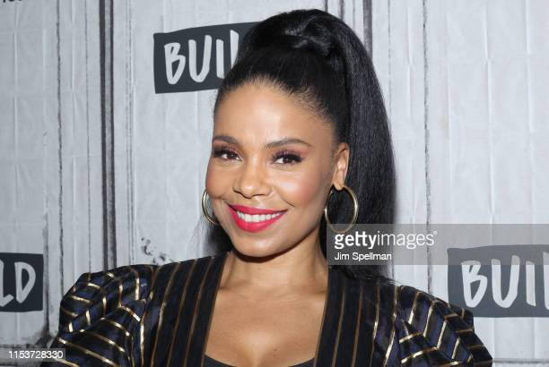 """Actress Sanaa Lathan attends the Build Series to discuss """"The Twilight Zone"""" at Build Studio on June 04, 2019 in New York City."""