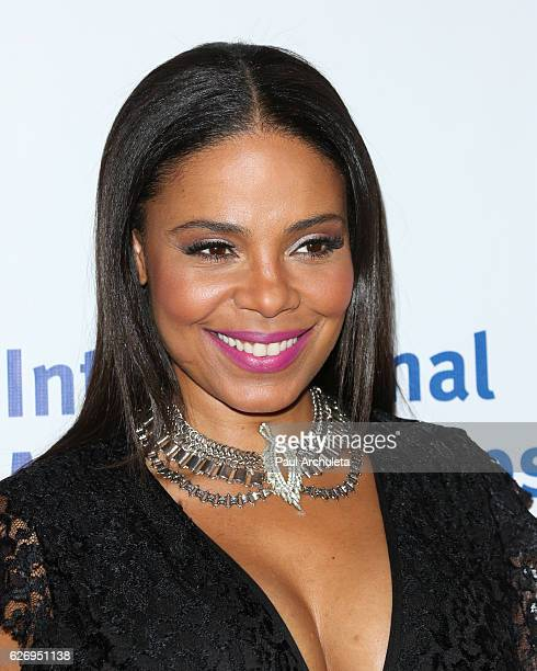 Actress Sanaa Lathan attends the International Medical Corps Annual Awards at the Beverly Wilshire Four Seasons Hotel on November 30 2016 in Beverly...