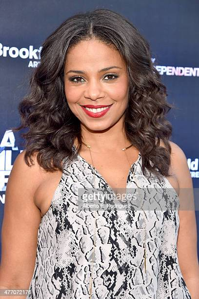Actress Sanaa Lathan attends the 'Love and Basketball' screening during the 2015 Los Angeles Film Festival at Regal Cinemas LA Live on June 13 2015...