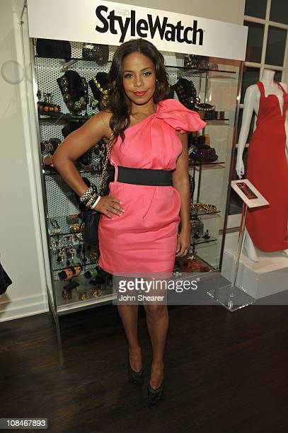 """Actress Sanaa Lathan attends the People StyleWatch """"A Night Of Red Carpet Style"""" event at Decades on January 27, 2011 in Los Angeles, California."""