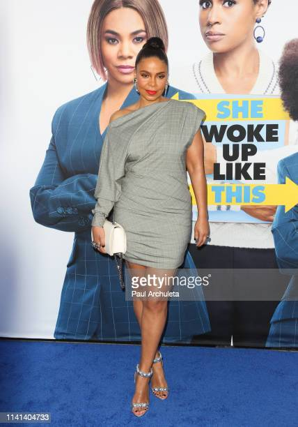 Actress Sanaa Lathan attends the premiere of Universal Pictures Little at The Regency Village Theatre on April 08 2019 in Westwood California