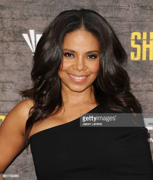 Actress Sanaa Lathan attends the Shots Fired FYC event at Saban Media Center on May 10 2017 in North Hollywood California