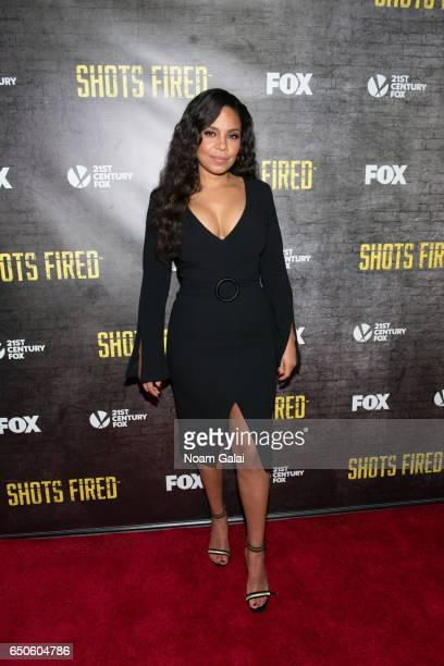 Actress Sanaa Lathan attends the Shots Fired New York special screening at The Paley Center for Media on March 9 2017 in New York City
