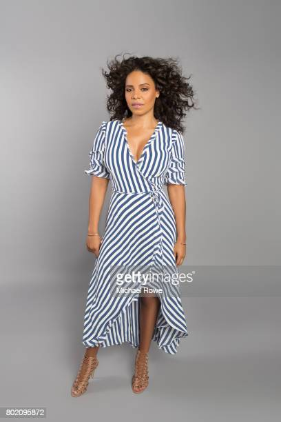 Actress Sanaa Lathan is photographed for The Wrap on May 30, 2017 in Los Angeles, California.