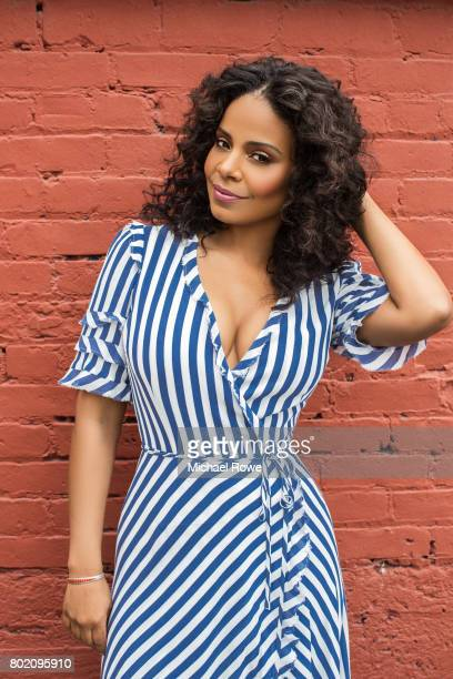 Actress Sanaa Lathan is photographed for The Wrap on May 30 2017 in Los Angeles California