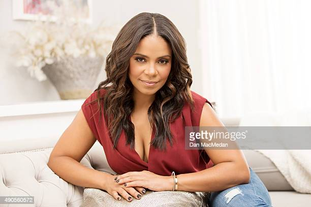 Actress Sanaa Lathan is photographed for USA Today on September 8 2015 in Los Angeles California