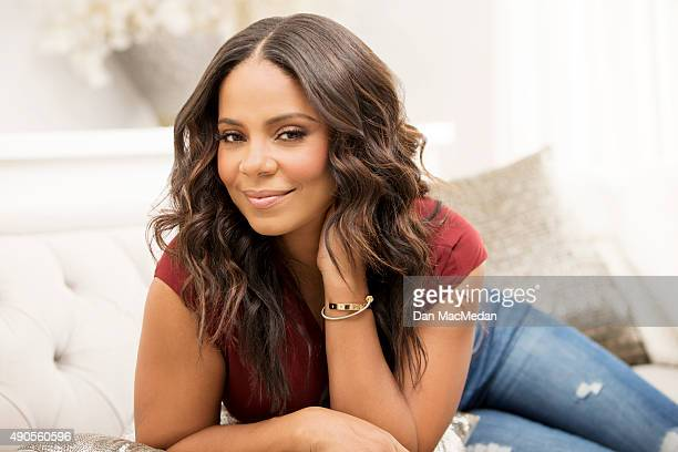 Actress Sanaa Lathan is photographed for USA Today on September 8 2015 in Los Angeles California PUBLISHED IMAGE