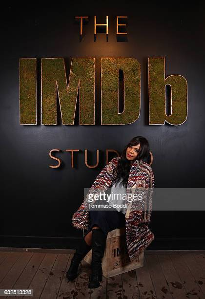 Actress Sanaa Lathan of 'Shots Fired' attends The IMDb Studio featuring the Filmmaker Discovery Lounge presented by Amazon Video Direct Day Four...