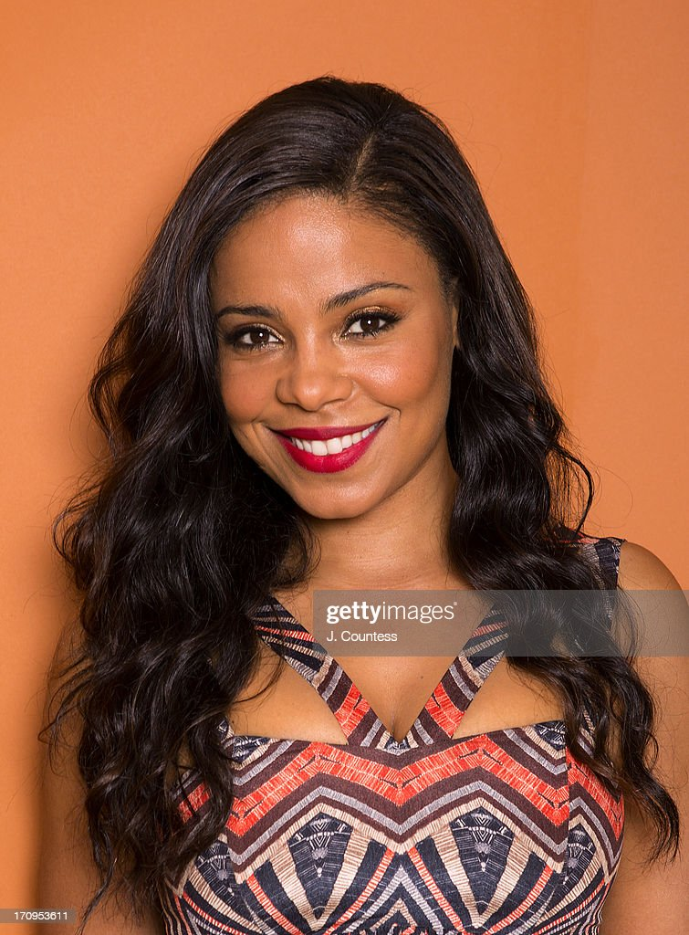 Actress Sanaa Lathan poses during the 2013 American Black Film Festival on June 20, 2013 in Miami, Florida.