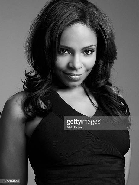 Actress Sanaa Lathan poses for a portrait session on July 18 New York NY