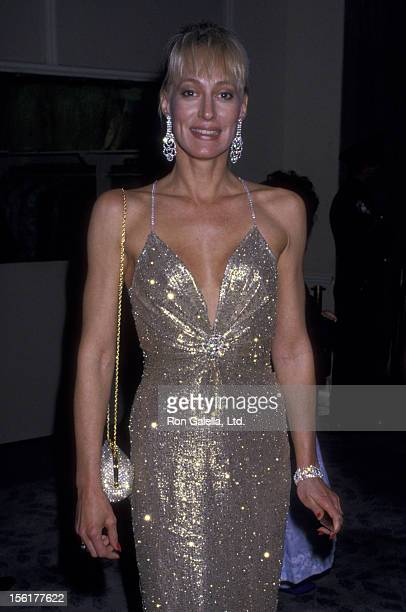Actress Sandahl Bergman attends 44th Annual Golden Globe Awards on January 31 1987 at the Beverly Hilton Hotel in Beverly Hills California