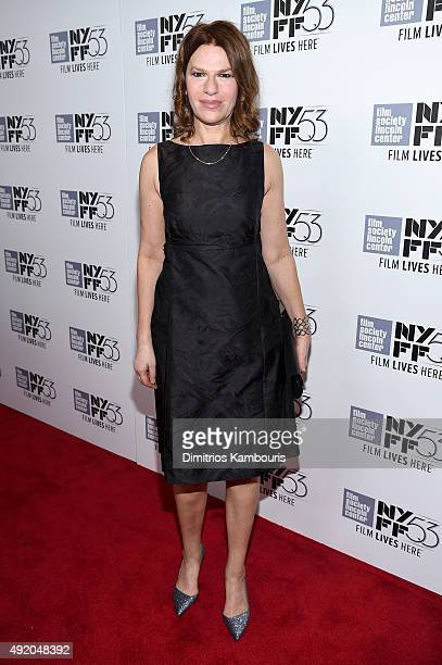 Actress Sandra Bernhard attends the premiere of Carol during the 53rd New York Film Festival at Alice Tully Hall Lincoln Center on October 9 2015 in...