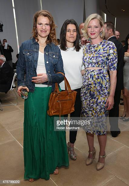 Actress Sandra Bernhard Sara Switzer and Gretchen Mol attend Up2Us Sports to Celebrate 5 Years Of Change Through Sports on June 3 2015 in New York...