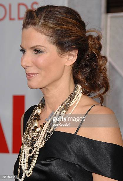 Actress Sandra Bullock arrives at the Los Angeles Premiere The Proposal at the El Capitan Theatre on June 1 2009 in Hollywood California