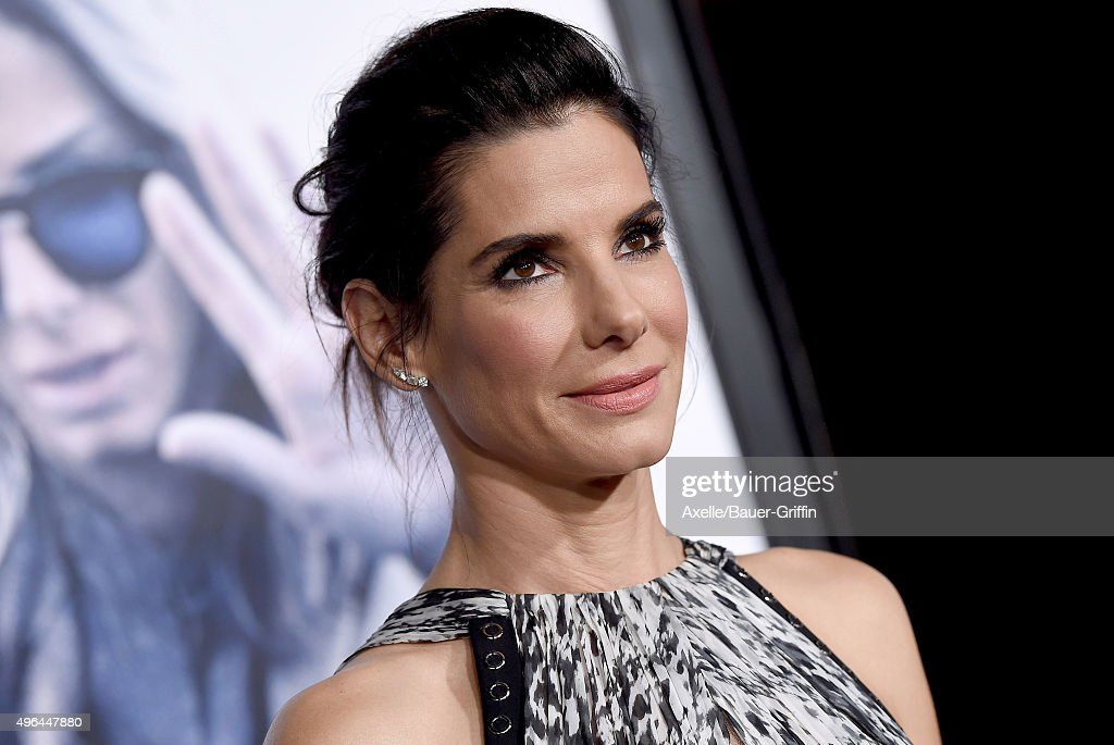 Actress Sandra Bullock arrives at the premiere of Warner Bros. Pictures' 'Our Brand Is Crisis' at TCL Chinese Theatre on October 26, 2015 in Hollywood, California.