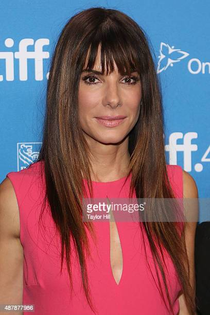 Actress Sandra Bullock attends a photocall for 'Our Brand is Crisis' at TIFF Bell Lightbox during the 2015 Toronto International Film Festival on...