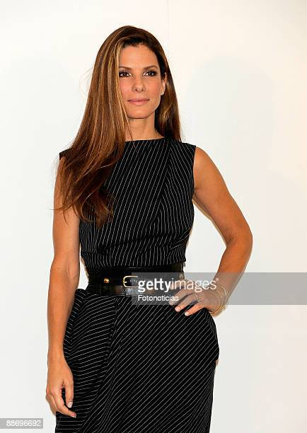 """Actress Sandra Bullock attends a photocall for """"The Proposal"""", at Villa Magna Hotel on June 26, 2009 in Madrid, Spain."""