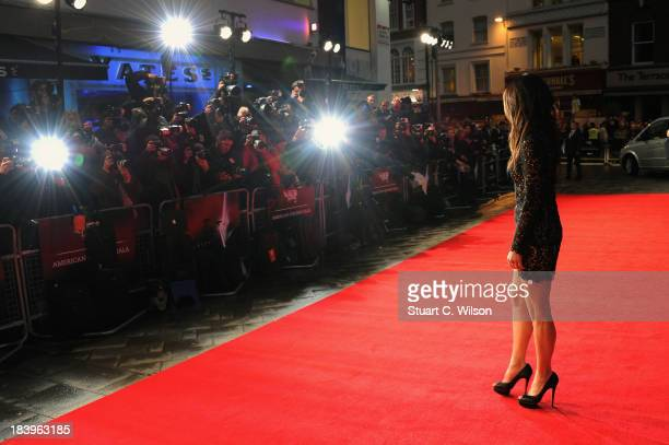 Actress Sandra Bullock attends a screening of Gravity during the 57th BFI London Film Festival at Odeon Leicester Square on October 10 2013 in London...