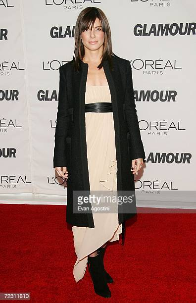 Actress Sandra Bullock attends Glamour Magazine's 'Glamour Women Of The Year Awards 2006' at Carnegie Hall October 30 2006 in New York City