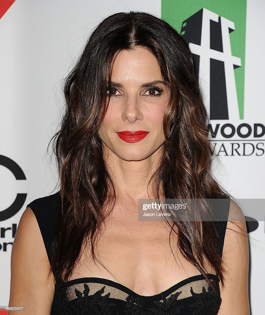 Actress Sandra Bullock attends the 17th annual Hollywood Film Awards at The Beverly Hilton Hotel on October 21, 2013 in Beverly Hills, California.