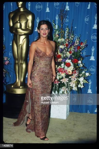 Actress Sandra Bullock attends the 69th Annual Academy Awards ceremony March 24 1997 in Los Angeles CA