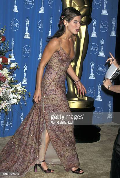 Actress Sandra Bullock attends the 69th Annual Academy Awards on March 24 1997 at Shrine Auditorium in Los Angeles California