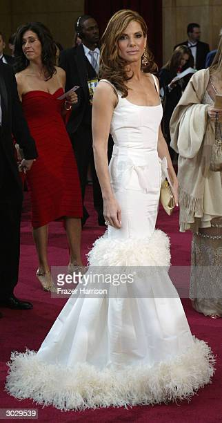 Actress Sandra Bullock attends the 76th Annual Academy Awards at the Kodak Theater on February 29 2004 in Hollywood California