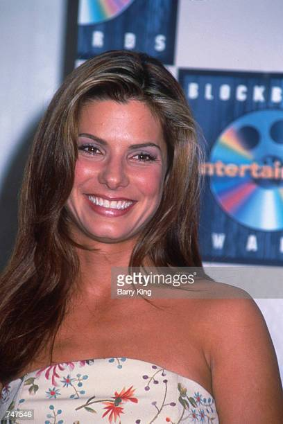 Actress Sandra Bullock attends the Blockbuster Awards in Los Angeles CA March 11 1997