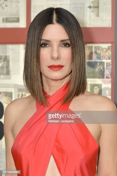 Actress Sandra Bullock attends the New York screening of Bird Box at Alice Tully Hall Lincoln Center on December 17 2018 in New York City