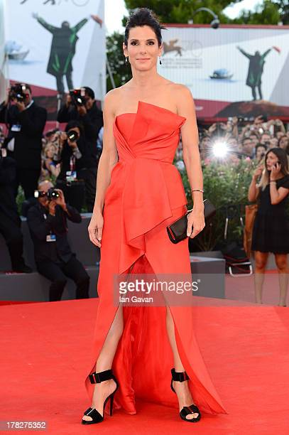 Actress Sandra Bullock attends the Opening Ceremony And 'Gravity' Premiere during the 70th Venice International Film Festival at the Palazzo del...