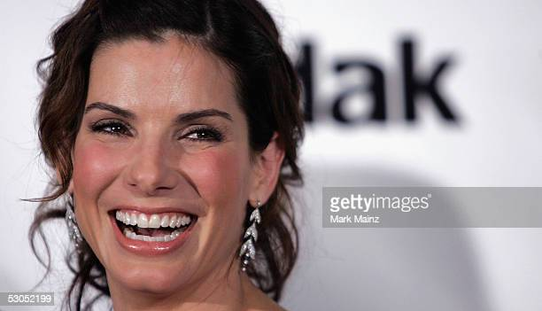 """Actress Sandra Bullock attends """"Women In Film presents: Fusion, The 2005 Crystal and Lucy Awards"""" June 10, 2005 at the Beverly Hilton Hotel in Los..."""