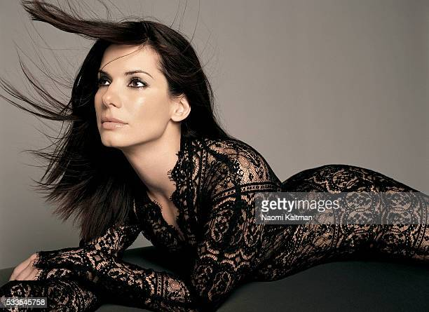 Actress Sandra Bullock is photographed for Parade Magazine in 2002
