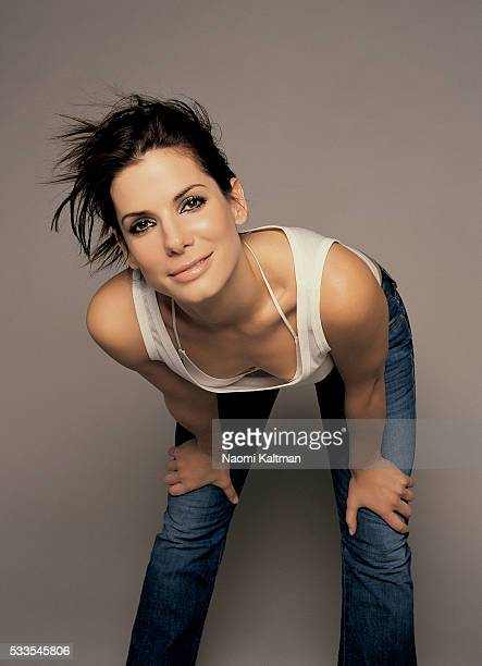 Actress Sandra Bullock is photographed for Parade Magazine in 2002.