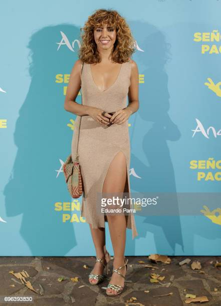 Actress Sandra Cervera attends the 'Senor dame paciencia' premiere at Fortuny Palace on June 15 2017 in Madrid Spain
