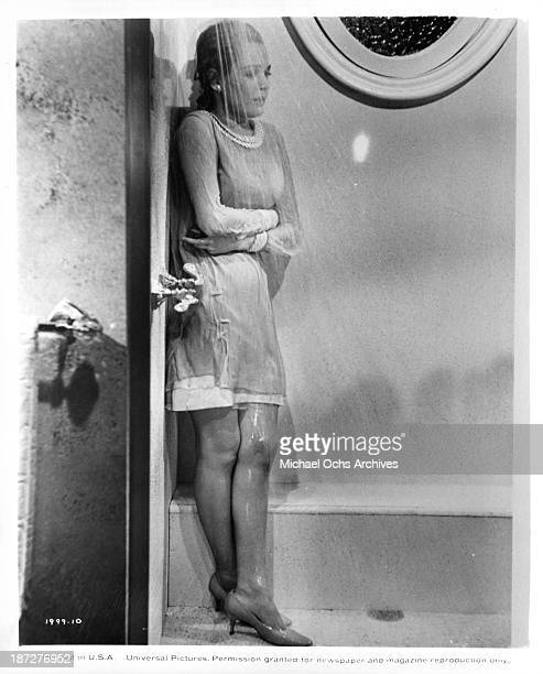Actress Sandra Dee on set of the Universal Studios movie Rosie in 1967