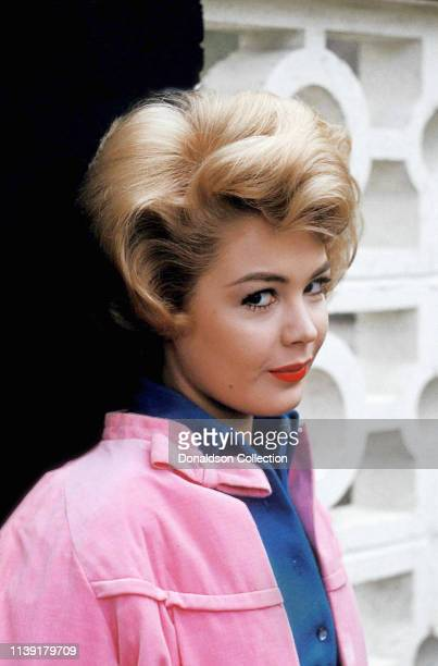 Actress Sandra Dee poses for a photo on November 3 1959 in Los Angeles California