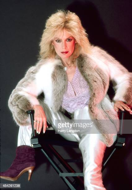 Actress Sandra Dee poses for a portrait in 1980 in Los Angeles California
