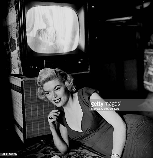 Actress Sandra Giles poses in Los Angeles California