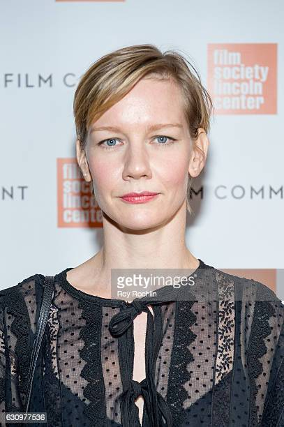 Actress Sandra Huller attends the 2016 Film Society Of Lincoln Center and Film comment luncheon at Scarpetta on January 4 2017 in New York City