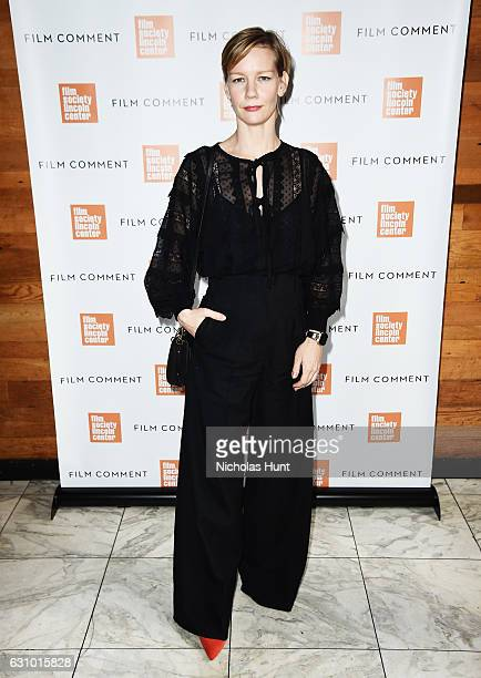 Actress Sandra Huller attends the 2016 Film Society Of Lincoln Center Film Comment Luncheon at Scarpetta on January 4 2017 in New York City