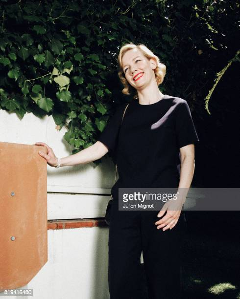 Actress Sandra Huller is photographed for Grazia Magazine on May 16 2016 in Cannes France