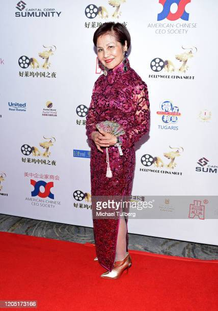 Actress Sandra Lau attends the Hollywood China Night Oscar viewing party at The Beverly Hilton Hotel on February 09 2020 in Beverly Hills California