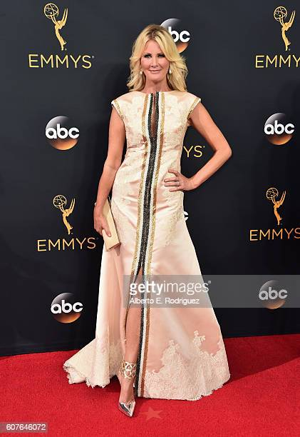Actress Sandra Lee attends the 68th Annual Primetime Emmy Awards at Microsoft Theater on September 18 2016 in Los Angeles California