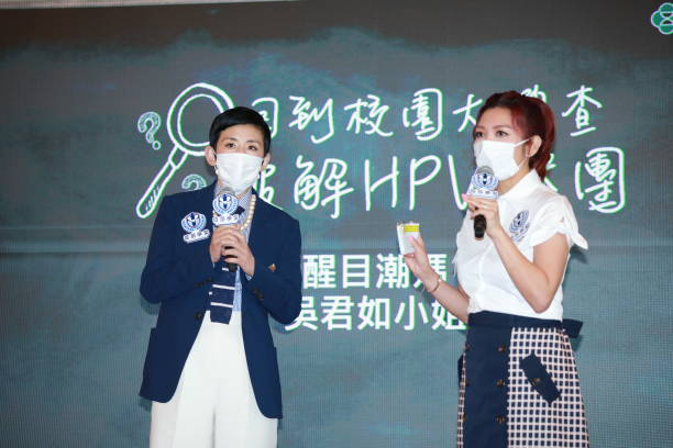 CHN: Sandra Ng Attends HPV Vaccines Activity In Hong Kong